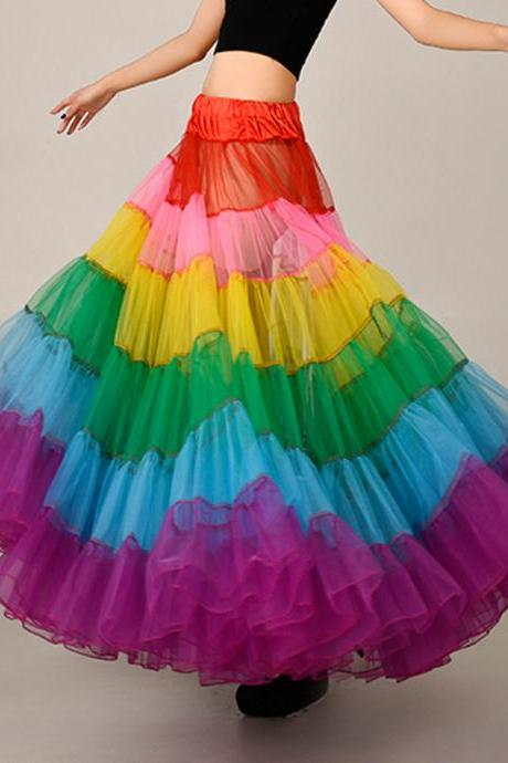 2018 Beautiful Colour Petticoate, Tutu Skirts Petticoate ,Fashion Skirts Petticoate