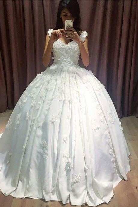 Cheap wedding dresses 2018,V Neckline Lace Appliqued Corset Bridal Dresses Ball Gowns,Plus Sizw China Wedding Dresses, Summer Women Gowns