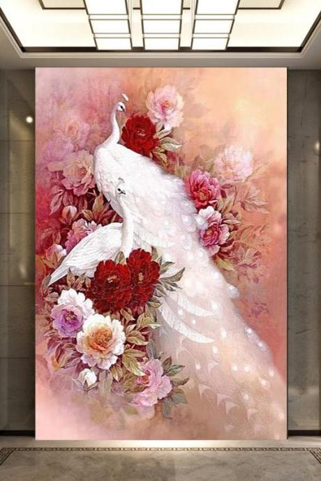 Special Shaped,Diamond Embroidery,China,Animal,Peacock,5D,Diamond Painting,Cross Stitch,3D,Diamond Mosaic,Decoration,diamond painting dieren,mosaic pictures