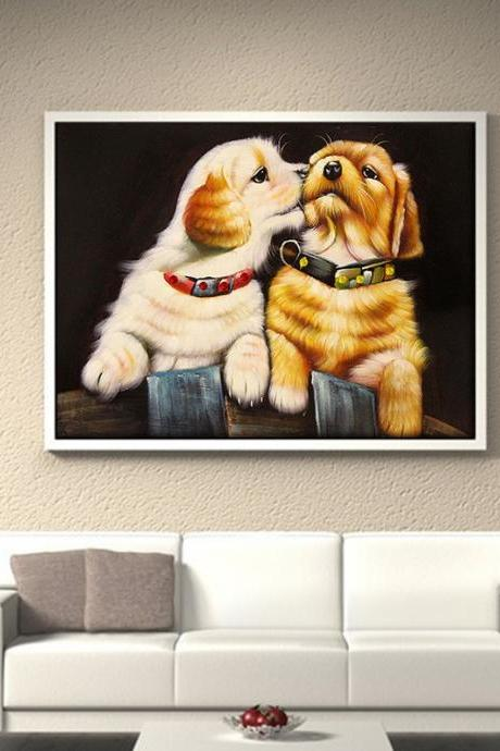 Size 30 x 40 cm Full,Diamond Embroidery, Dogs Diamond Paintings ,5D,Diamond Painting,Cross Stitch,3D,Diamond Mosaic,Needlework,Crafts,Christmas,Gift,Embroidery Cross Stitch ,mosaic picture