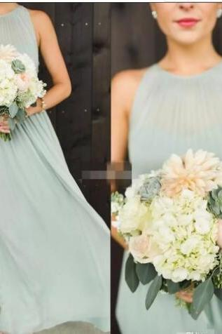 Elegant Plus Size Sage Green Chiffon Long Bridesmaid Dresses Floor Length Boho Country Wedding Party Dress Maid of Honor Gowns Formal,Off Shoulder Women Party Gowns .