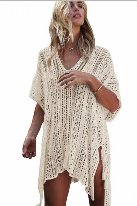 New Arrival Girls Beach Dress Cover Up Swimsuits , Swimwear Lace Party Gowns , Summmer Swimsuits,Kigurumi Women Dress ,Beach Dress