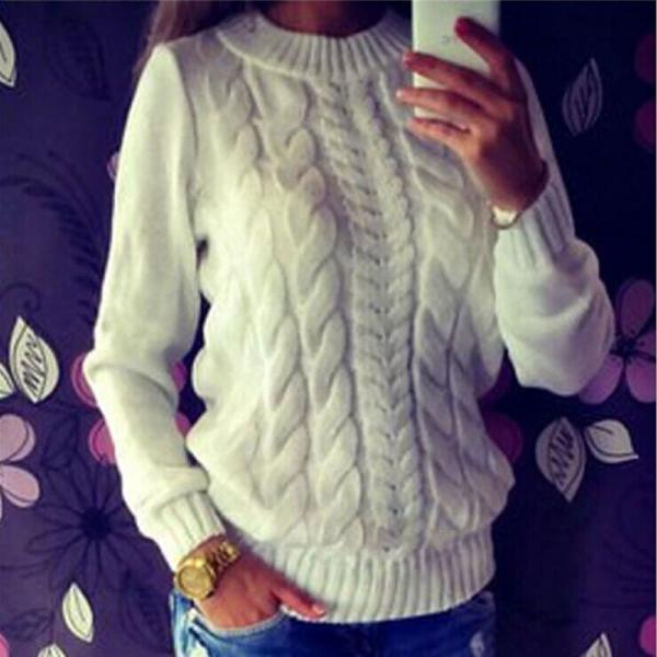 Women Autumn Sweather Long Sleeve Sweater Pullover Knit Sweater,Boycon Sweater ,Long Sleeve Sweater Knitted Winter Jumper